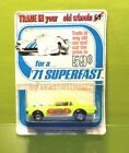 Matchbox Superfast SEALED RARE Trade in Your Old Car Blister Five Spoked wheels