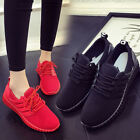 Fashion Womens Lace Up Casual Breathable Shoes Running Athletic Sneakers