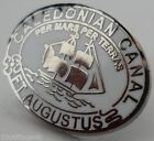Caledonian Canel Fort Augustus Crest Small Pin Badge (1903)