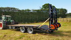 LOW LOADER TRAILER Fendt tractor paint