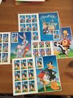 Mint Looney Tunes Stamps Set Of 4