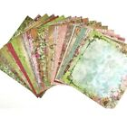 12X12 Scrapbook Paper Lot 20 Sheets Vintage  Floral Prints Card Making L196