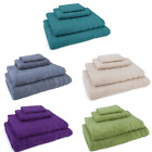 100% Cotton 4 Piece Towel Set, Bath Sheet, Bath Towel, Hand Towel, Washcloth