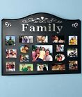 FAMILY 17 OPENING COLLAGE PHOTO PICTURE FRAME WALL ART LIVING ROOM HOME DECOR