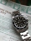 Unpolished Rolex Submariner 40 mm No-Date Two Liner Mens Watch 14060 Box Papers