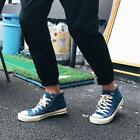 Mens Casual Shoes Canvas Youth Fashion Sneakers Casual Running Athletic Flats T2