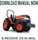 KUBOTA L3540 L4240 L5040 L5240 L5740 TRACTOR WORKSHOP SERVICE MANUAL on CD