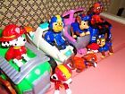 Mixed lot of 12 Paw Patrol Figures  Vehicles