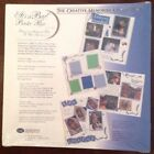 Its A Boy Border Creative Memories 5 Sheet 10 Pages Blue Corner Design Baby New