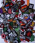 Random Lot of 40 Rock Band Patches Iron on Music Punk Roll Heavy Metal Sew DIY