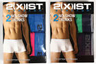2XIST Stretch 2 No-Show Trunks SIZE S,M,L,XL