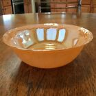 Anchor Hocking Fire King, Laurel Peach Luster, Ovenware Serving Bowl, USA, Mint