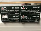 Kato Southern Pacific Daylight Articulated Add On Sets Passenger Cars