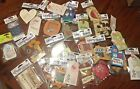 Rebecca Sower Mover And Shaker Scrapbook Embellishments 3D Tags Holiday HUGE lot