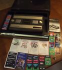 Vintage INTELLIVISION LOT console center games overlays controllers 50+ PIECES