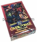 1997 DC JLA JUSTICE LEAGUE OVERPOWER FACTORY SEALED BOOSTER BOX EXTREMELY RARE