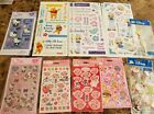 LOT Of 15 Sheets Stickers Strawberry Shortcake Tinker Bell Hollie Hobbie more