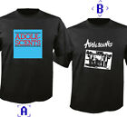 ADOLESCENTS BAND Black Short Sleeve T-shirt