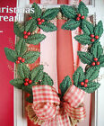 ''CHRSTMAS WREATH'' ~*~PLASRIC CANVAS PATTERN~*~B