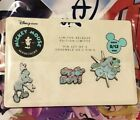 Disney Store May Mickey Mouse Memories Pin Set 1950s Space Age SOLD OUT