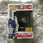 Funko Pop! Transformers Optimus Prime with Sword Hot Topic Exclusive #110!