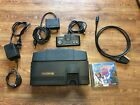 NEC TurboGrafx-16 RGB and Composite Modded. Tested and working. With Game