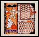 12 x 12 Pre made Single Page Scrapbook Layout HALLOWEEN COOKIES