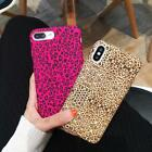 Leopard Soft Silicone TPU Case for iPhone X 8 7 6 6S Plus Cover Slim Shockproof