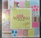 Paper studio 12 by 12 Pink Armadillo 60 sheets