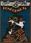 THE CONFORMIST Amazing Original Czech Poster BERNARDO BERTOLUCCI