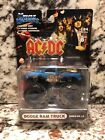 MUSCLE MACHINES MONSTER TRUCK DODGE RAM 1 64 SCALE DIE CAST AC DC M064 05 13