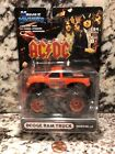 MUSCLE MACHINES MONSTER TRUCK DODGE RAM 1 64 SCALE DIE CAST AC DC M064 05 18