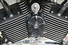 LeNale Engineering Black Engine Cooling Fan 92-17 Harley Softail Dyna Models