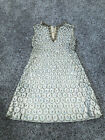 Vintage 50s 60s Beaded Crystal Cocktail Party Tea Wedding Dress Neiman Marcus