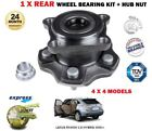 FOR LEXUS RX450H 35 HYBRID 4X4 2009  1 X REAR WHEEL BEARING KIT WITH HUB + NUT