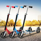Folding Aluminum Kick Scooter 2 Wheels Foldable Adjustable Height for Kids Adult