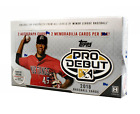2018 Topps Pro Debut Baseball MLB Hobby Edition Factory Sealed Box