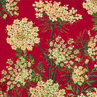 Henry Glass Botanical Blooms Red Queen Annes Lace