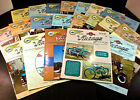 5 YEARS Vintage Motor Bike Club Magazines Cushman Scooter Minibike 2000 2004