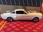 Lane Exact Detail 1966 Shelby GT350H 1 18 Scale Mustang White w Gold Stripes