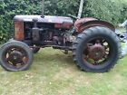 David Brown 25D Vintage Tractor Un restored Runs Drives and Stops