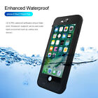 Waterproof Battery Charging Case Portable Power Bank Cover for iPhone 8 7 6 Plus