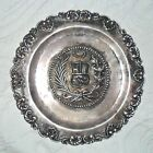 STERLING SILVER 'COAT OF ARMS' PLATE or TRAY Hanging