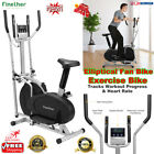 Exercise Bike Fan Bikes Elliptical Cross Trainer Home Fitness Sports Gym Workout