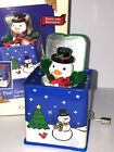 HALLMARK Keepsake 2003 POP! GOES THE SNOWMAN Jack In The Box MUSIC ORNAMENT New