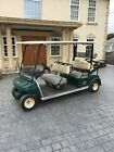 Golf Buggy Club Car 4 Seater Forward Facing Electric With PA Speaker And Mike