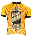 Retro Image Rocket Cycling Jersey Mens Short Sleeve New RUNS SMALL bike bicycle