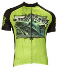 Retro Image Trainwreck Cannibis Cycling Jersey Mens New RUNS SMALL bicycle
