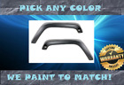 Pre Painted To Match 07 17 Pair of FRONT Fender Flares for Jeep Wrangler JK