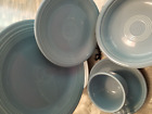 1989 Periwinkle Fiesta 5 PC Place Setting -13 Yrs Unused- Excellent Vtg Cond!
